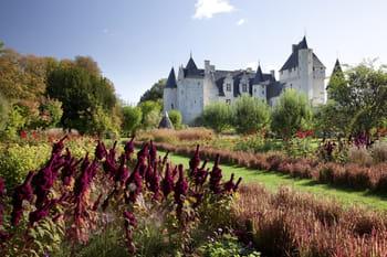 Les jardins féeriques du château du Rivau