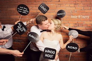 Photobooth 20 id es originales pour votre mariage journal des femmes - Idees mariages originales ...