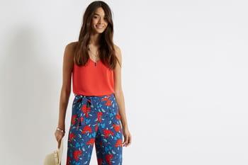 Des pantalons à profusion pour terminer l'été