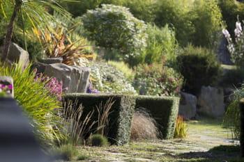 Un jardin min ral qui joue sur les graphismes - Deco jardin journal des femmes toulouse ...