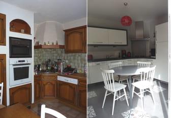 Avant-après : coup de jeune sur une cuisine ouverte