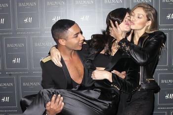 H&M X Balmain, les people du défilé de New York