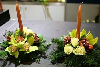 D co no l 2016 des id es d co pour le sapin et la table - Centre de table pour noel a fabriquer ...