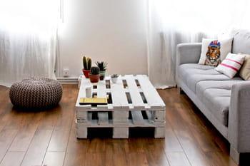 1 palette en bois, 10possibilités