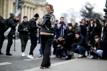 Haute couture printemps-été 2016 : street style à la sortie des défilés
