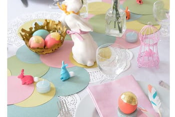16 idées pour décorer sa table de Pâques