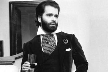 Karl Lagerfeld en 10 photos insolites