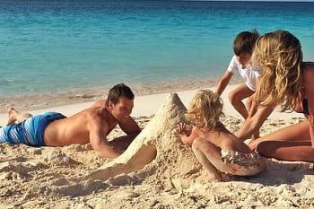 Les people partent en vacances en famille !
