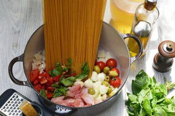 13 recettes de one pot pasta ou one pan pasta