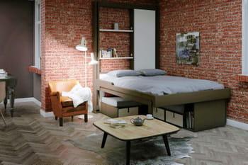 Le lit escamotable à la rescousse des petits espaces