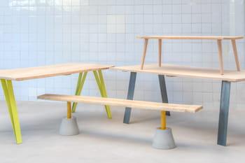 Fabriquer sa table avec des pieds personnalisables - Fabriquer sa table de cuisine ...