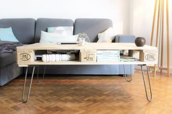 fabriquer sa table avec des pieds personnalisables journal des femmes. Black Bedroom Furniture Sets. Home Design Ideas