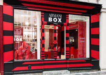 giorgio armani beauty ouvre sa boutique ph m re paris. Black Bedroom Furniture Sets. Home Design Ideas