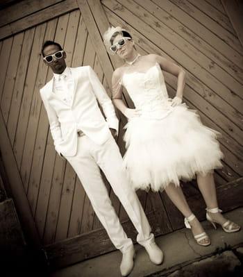 Le mariage glam' chic de Sabrina et Osman