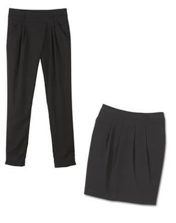 Quel haut porter avec un pantalon et une jupe noirs ?