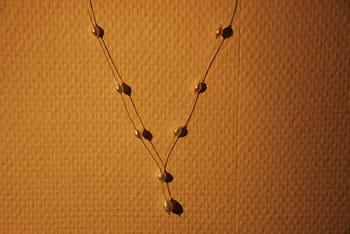 Fabriquez vous-même votre collier de mariée