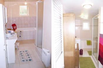 Avant-après : une salle de bains relookée et zen