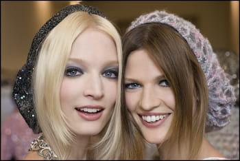 Le look maquillage du défilé Chanel haute couture automne/hiver 2012-13