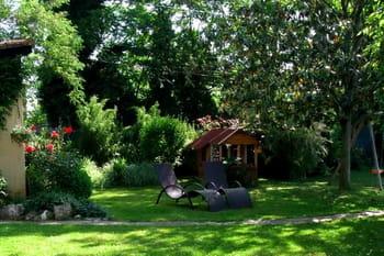Le jardin coloré de Dominique