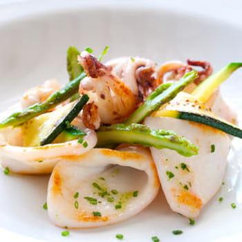 20 recettes au calamar, à l'encornet et à la seiche