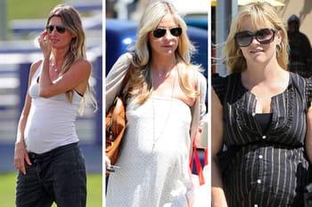 Les plus belles stars enceintes de l'été