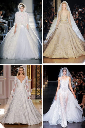 Des robes de mari&eacute;e de r&ecirc;ve