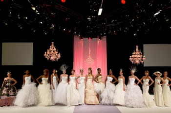 Salon du Mariage à la Défense 2012 : le défilé