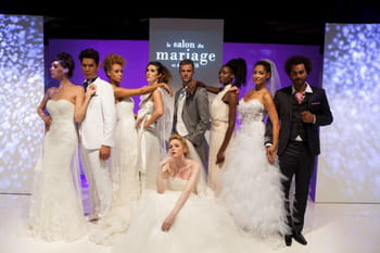 Robes de mari&eacute;e 2013 : le d&eacute;fil&eacute; du salon du mariage et du pacs 2012