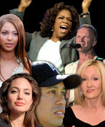 Les 10 stars les plus influentes du monde