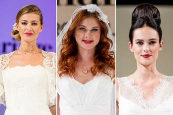 Salon du Mariage du Carrousel du Louvre 2012 : les coiffures de mariées