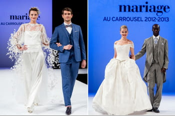 Le d&eacute;fil&eacute; du Salon du Mariage au Carrousel 2012