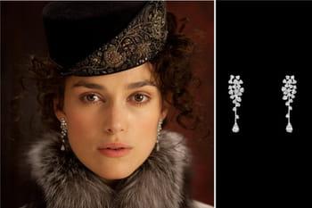 Chanel Joaillerie pare Keira Knightley sur le tournage d'Anna Karénine