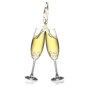 25 recettes au champagne