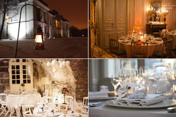 Mariages d'hiver : 14 d&eacute;co de wedding-planners