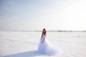 Un mariage dans la neige