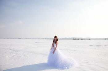 Un mariage dans la neige