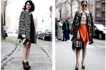 Fashion week Milan : les plus beaux street looks des défilés automne-hiver 2013-2014