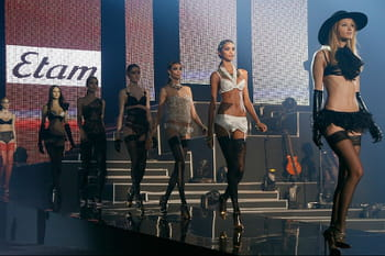 Fashion week Paris : le grand show Etam Lingerie Live 2013