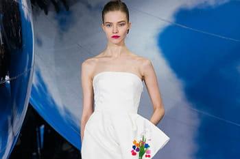 Fashion week Paris : défilé aérien chez Dior prêt-à-porter automne-hiver 2013-2014