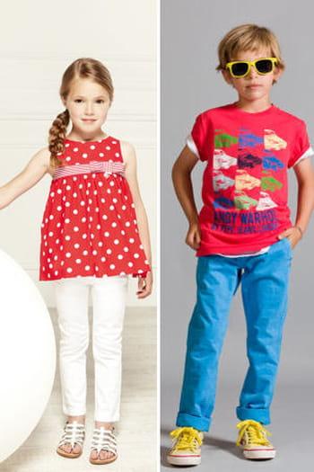 Mode enfant : Sélection printemps-été 2013
