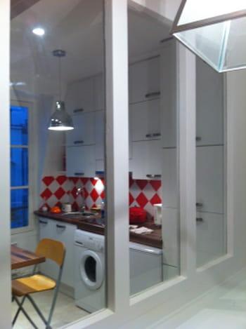La verri re entre cloison et fen tre journal des femmes for Verriere entre cuisine et salle a manger