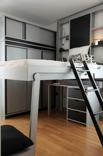 solutions pour optimiser l 39 espace et le rangement chez soi journal des femmes. Black Bedroom Furniture Sets. Home Design Ideas