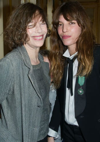 Lou Doillon couple