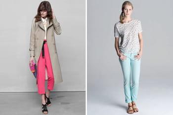 Pantalons colorés : la tendance du printemps-été 2013