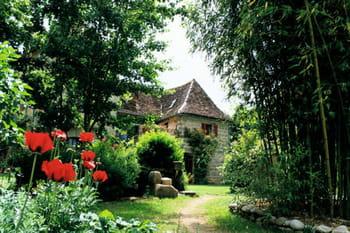 Un jardin trois-en-un en Corrèze