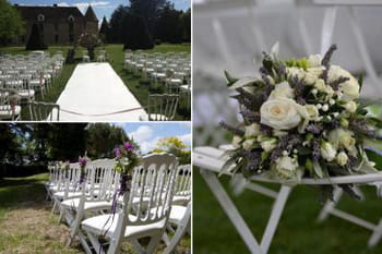 Décoration de mariage d'été vue par des wedding-planner