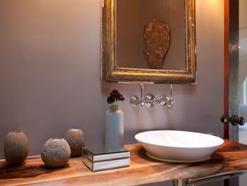 D co wc id es d 39 am nagement pour les toilettes - Comment peindre sa salle de bain ...
