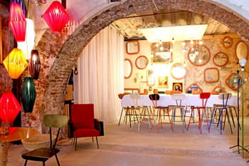 La maison originale et colorée de Mitri Hourani