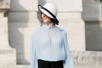 Fashion week Paris : les plus beaux street looks des défilés printemps-été 2014