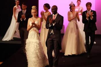 Robes de mariée : défilé du Salon du Mariage au Carrousel 2013